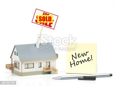 istock New house concept 651357282