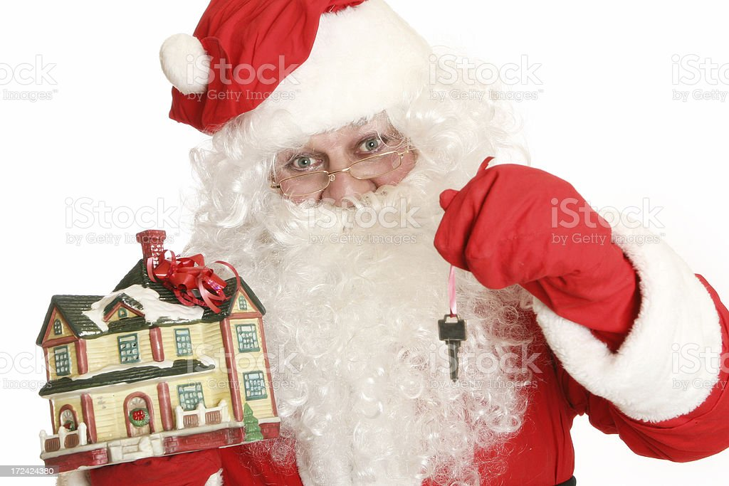 New house for Christmas! royalty-free stock photo