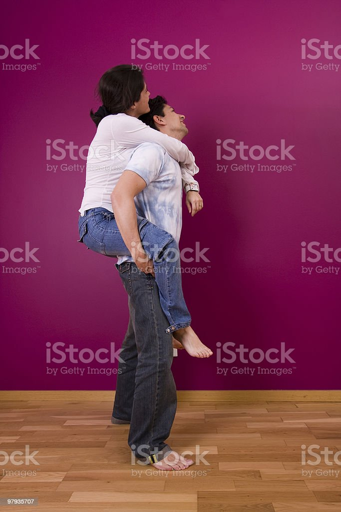New house happiness royalty-free stock photo