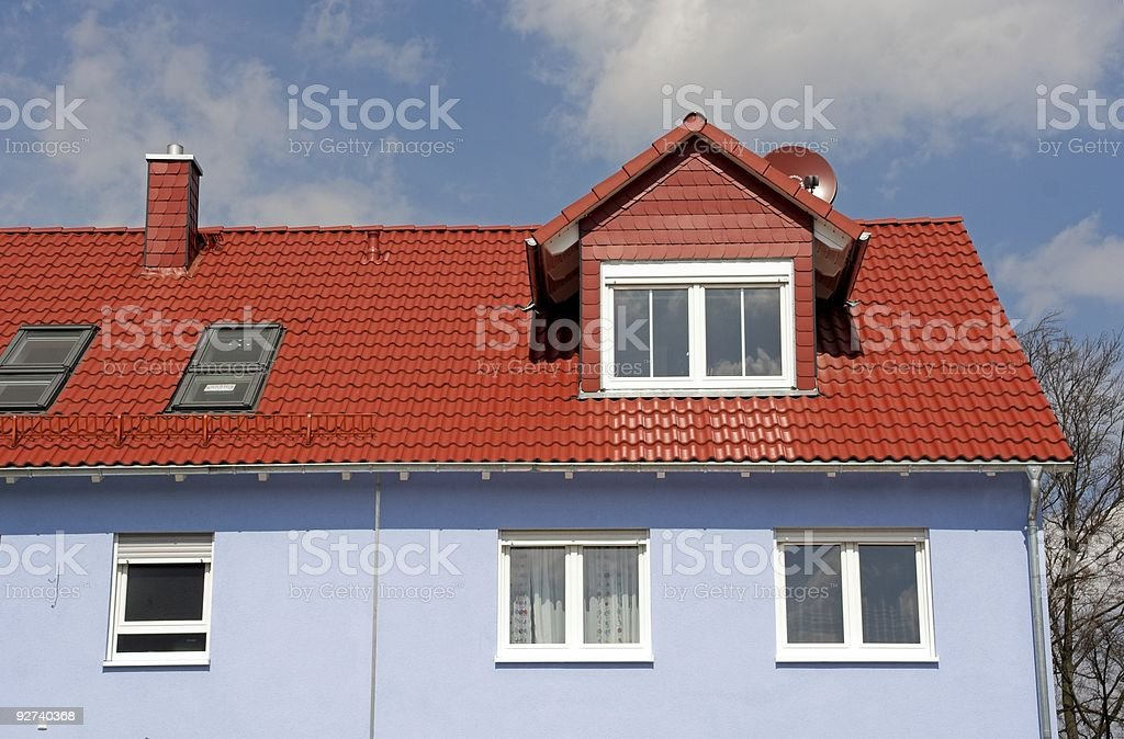Neues Haus Lizenzfreies stock-foto