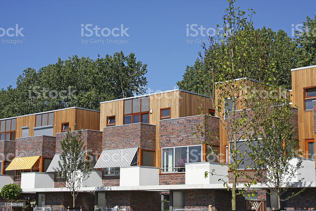 New houses XL royalty-free stock photo