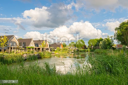 istock New housing estate along a pond 1251272617