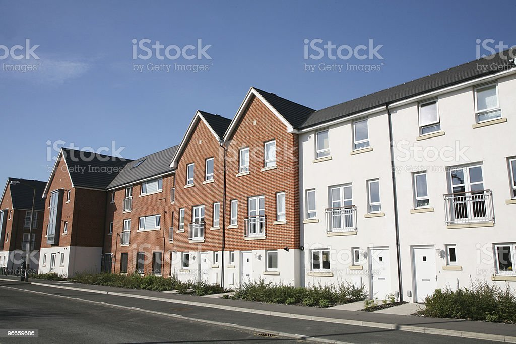 New Housing royalty-free stock photo