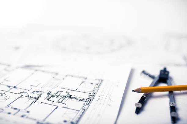 新しい住宅プロジェクト - デザイン ストックフォトと画像