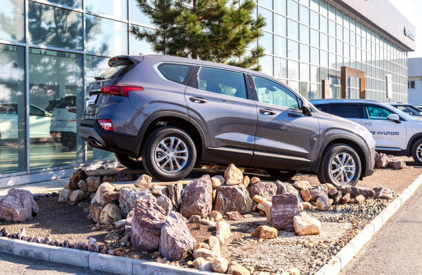 Neues Hyundai Santa Fe Fahrzeug – Foto