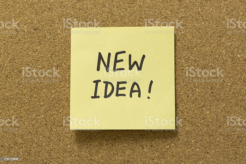 New Idea! royalty-free stock photo