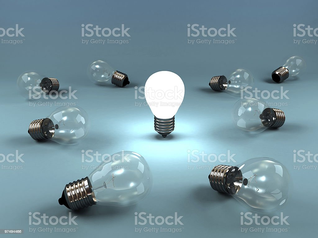 New Idea royalty-free stock photo
