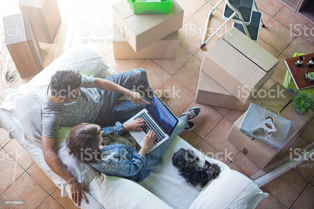 New ideas for the new home stock photo
