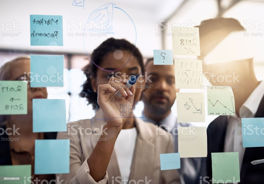 New ideas in the making royalty-free stock photo