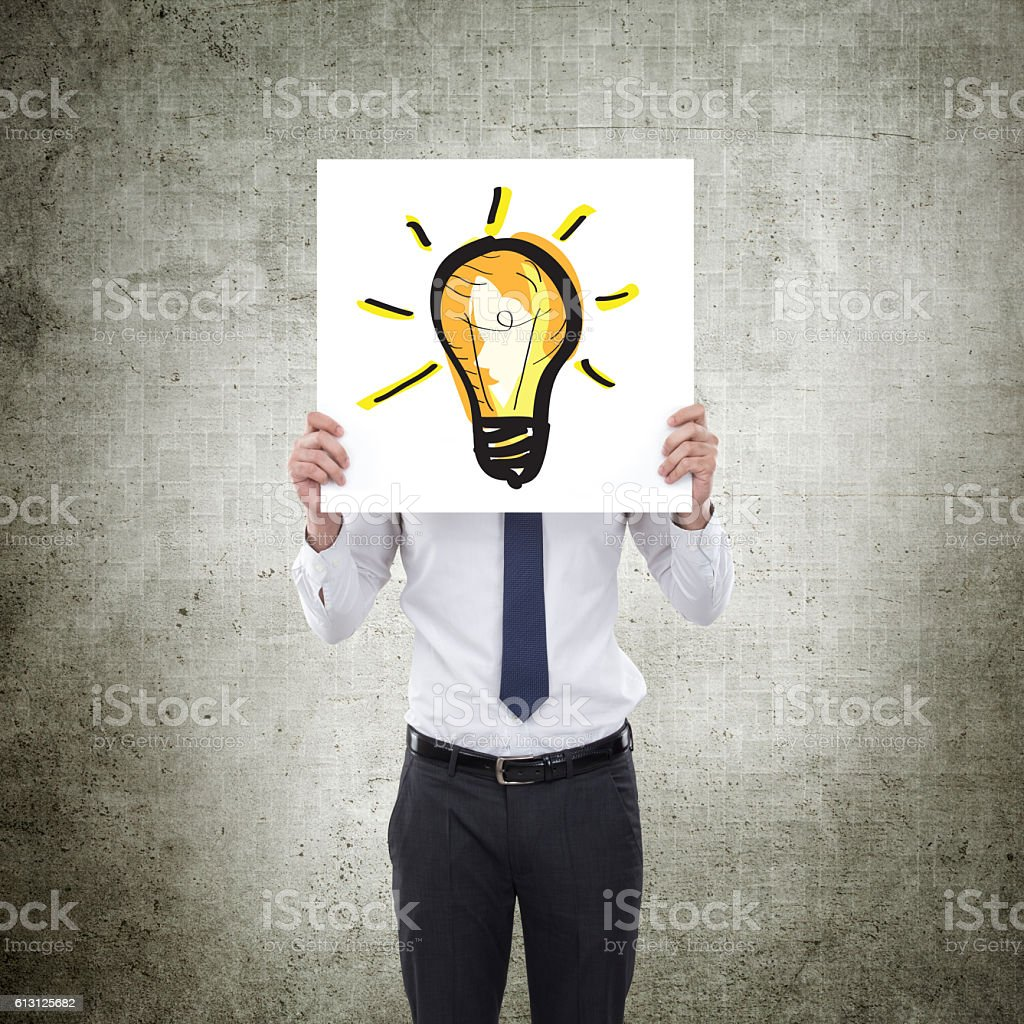 New ideas stock photo