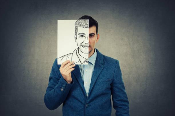 neue identität - wahre lügen stock-fotos und bilder