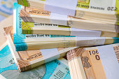 istock New Indian Currency, New Indian Banknotes. 1214541199