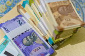 istock New Indian Currency, New Indian Banknotes. 1214541301