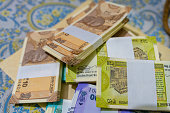 istock New Indian Currency, New Indian Banknotes. 1214541454