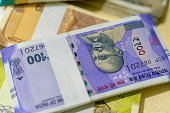 istock New Indian Currency, New Indian Banknotes. 1214541652