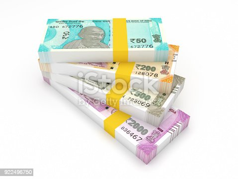 istock New Indian Currency 922496750