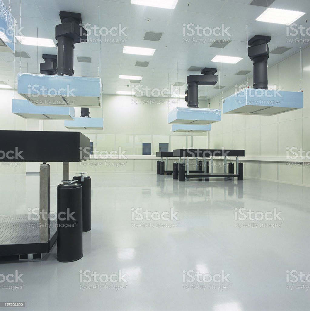New Industrial hall royalty-free stock photo