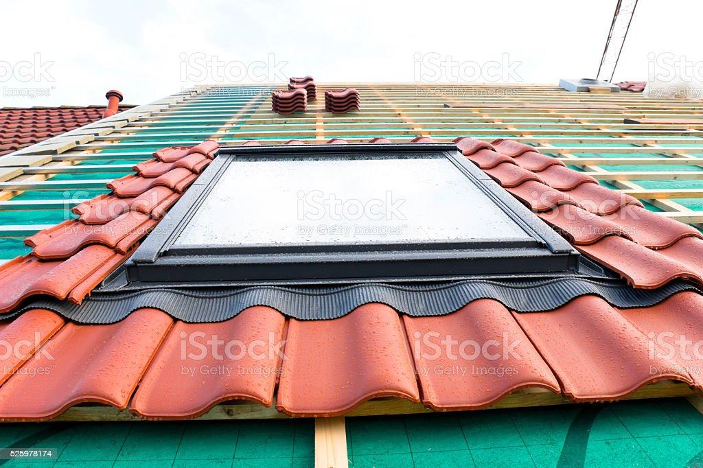 Neu installierte Oberlicht – Foto
