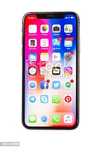 892510910 istock photo New Iphone X 892245888
