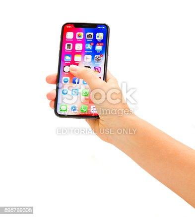 892510910 istock photo New Iphone X 895769308