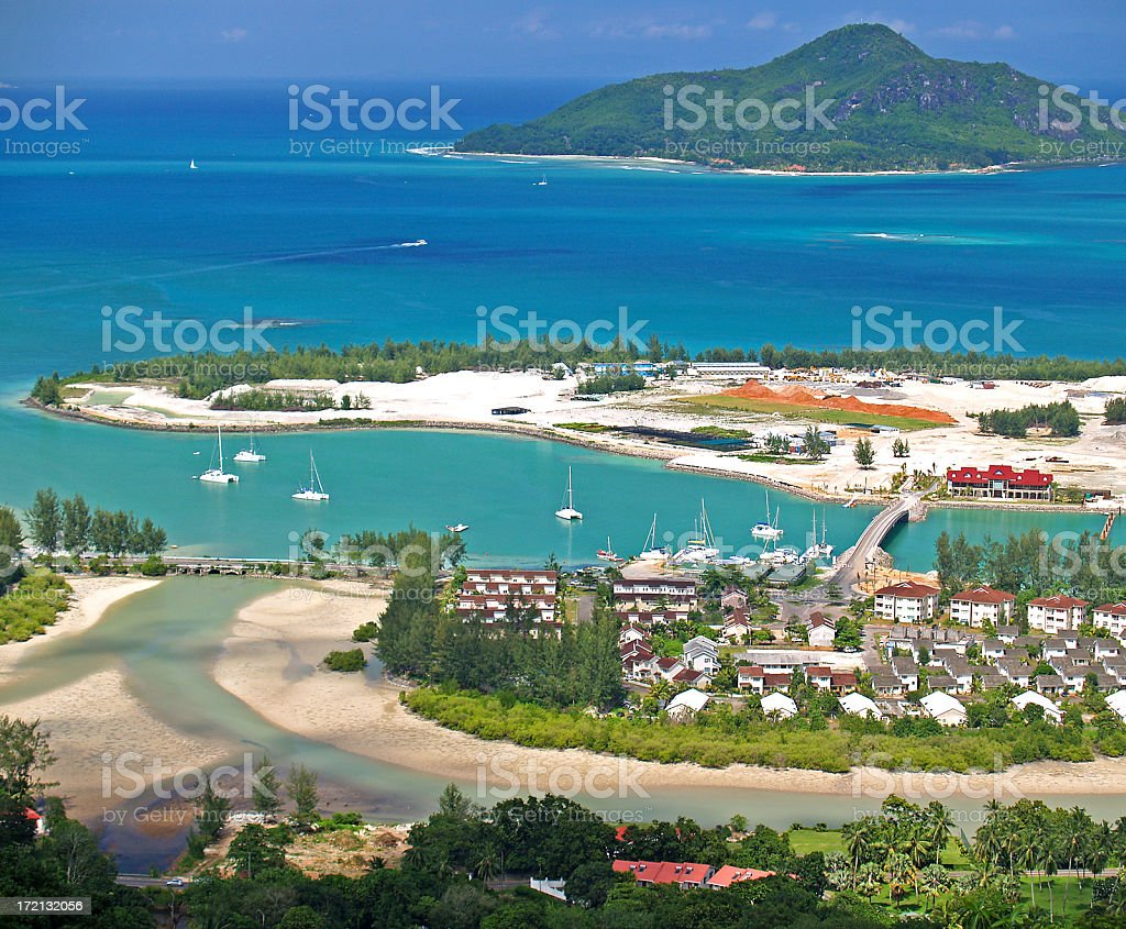 New Island stock photo