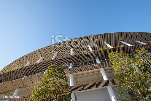 1188904934 istock photo New Japan National Stadium in Tokyo 1197569997