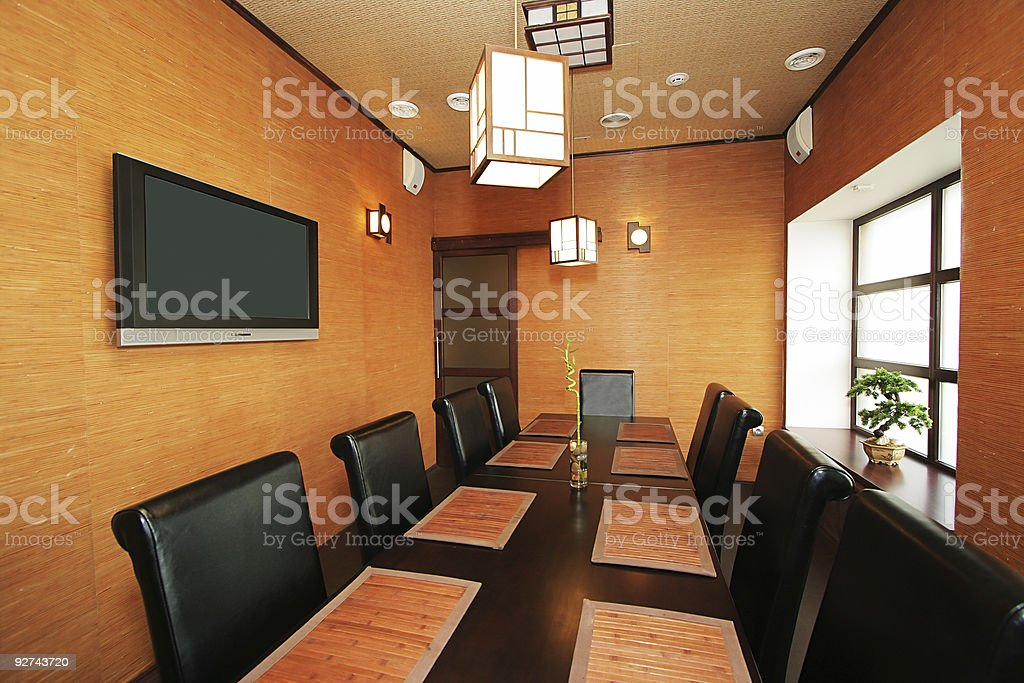 new Japanese restaurant royalty-free stock photo