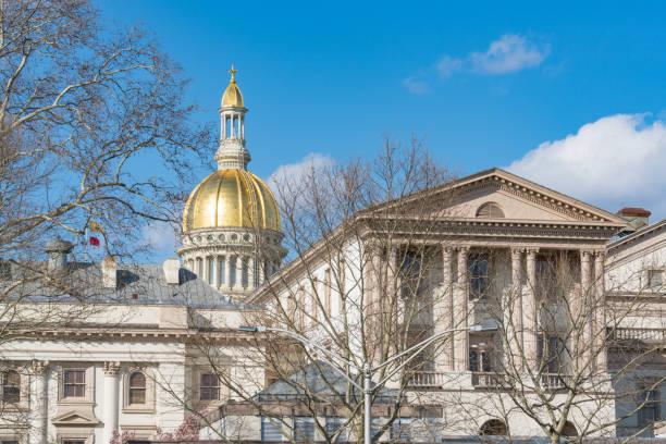 Capitolio Nueva Jersey en Trenton - foto de stock