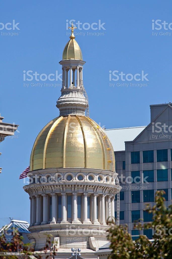 New Jersey Capitol Building, Trenton stock photo
