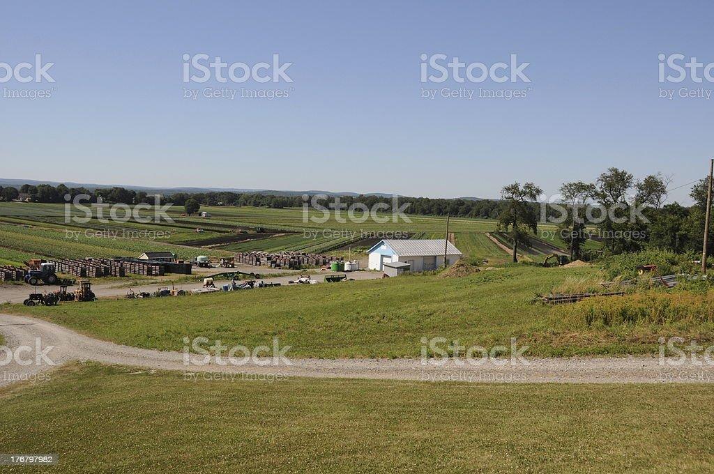 New Jersey Farm royalty-free stock photo