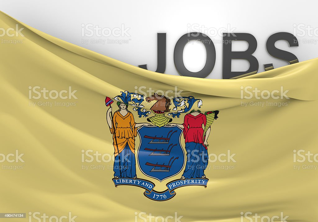 New Jersey jobs and employment opportunities concept stock photo