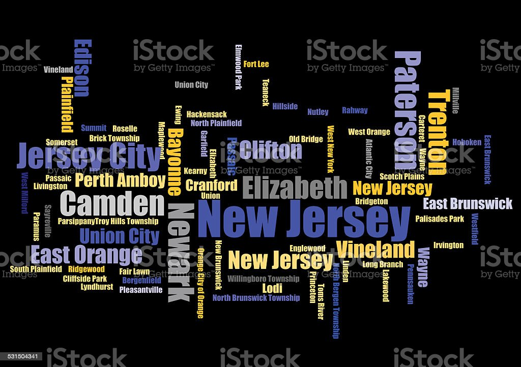 New Jersey stock photo