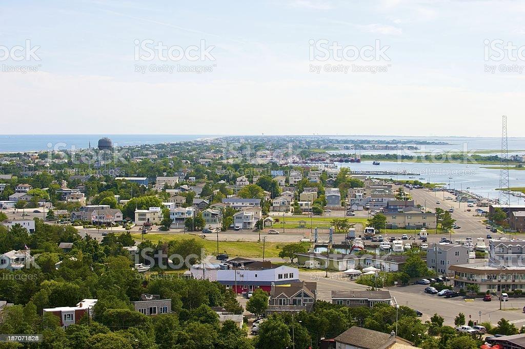 New Jersey shore. royalty-free stock photo