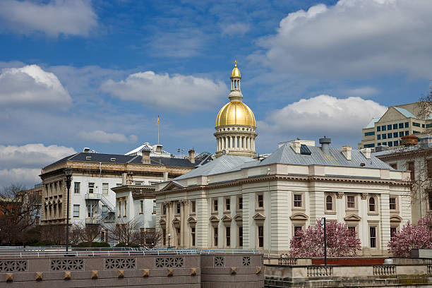 New Jersey State House  state capitol building stock pictures, royalty-free photos & images