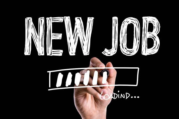 nytt jobb - new job bildbanksfoton och bilder