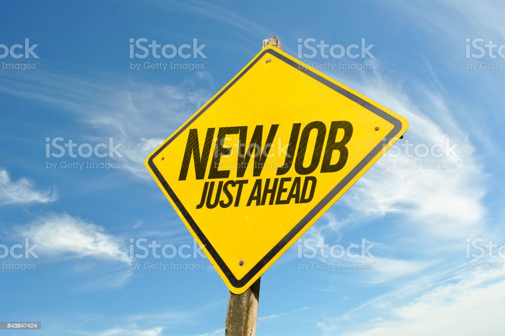 New Job stock photo