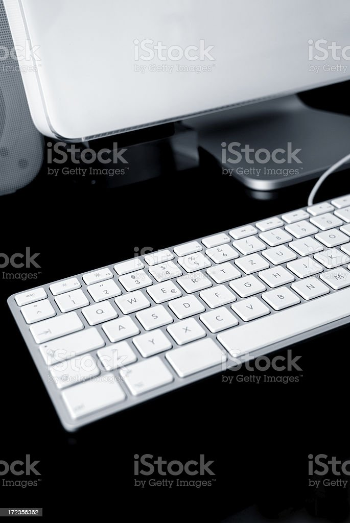 new keyboard royalty-free stock photo
