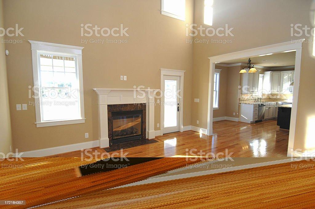 New Kitchen stock photo