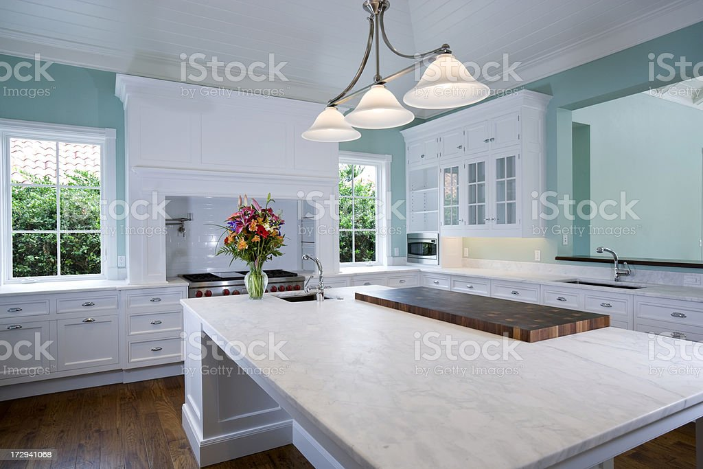 New Kitchen stock photo