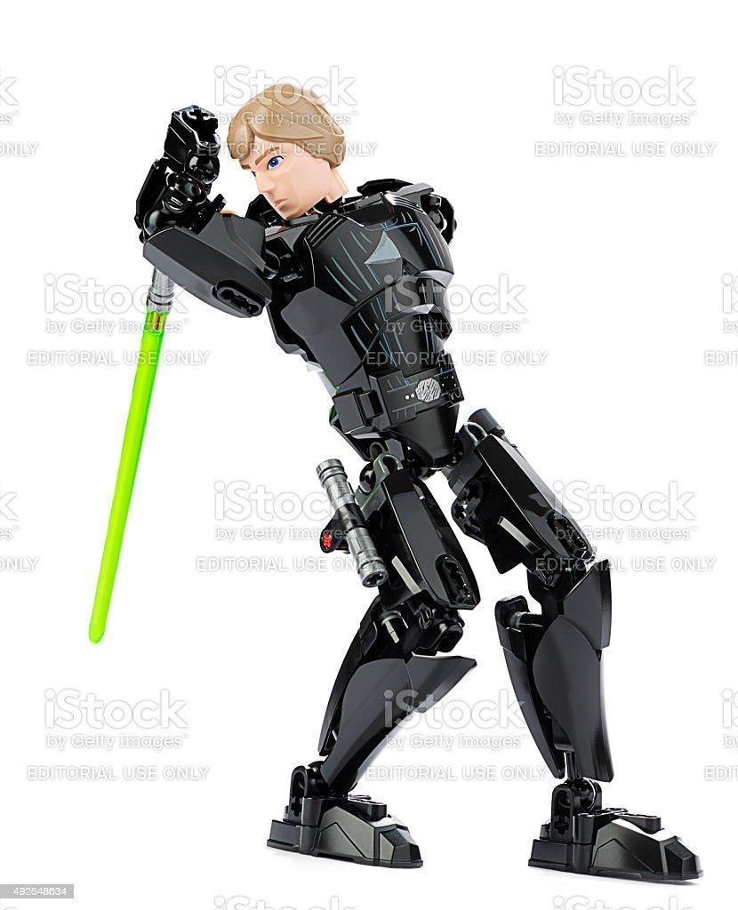 New Lego Luke Skywalker stock photo
