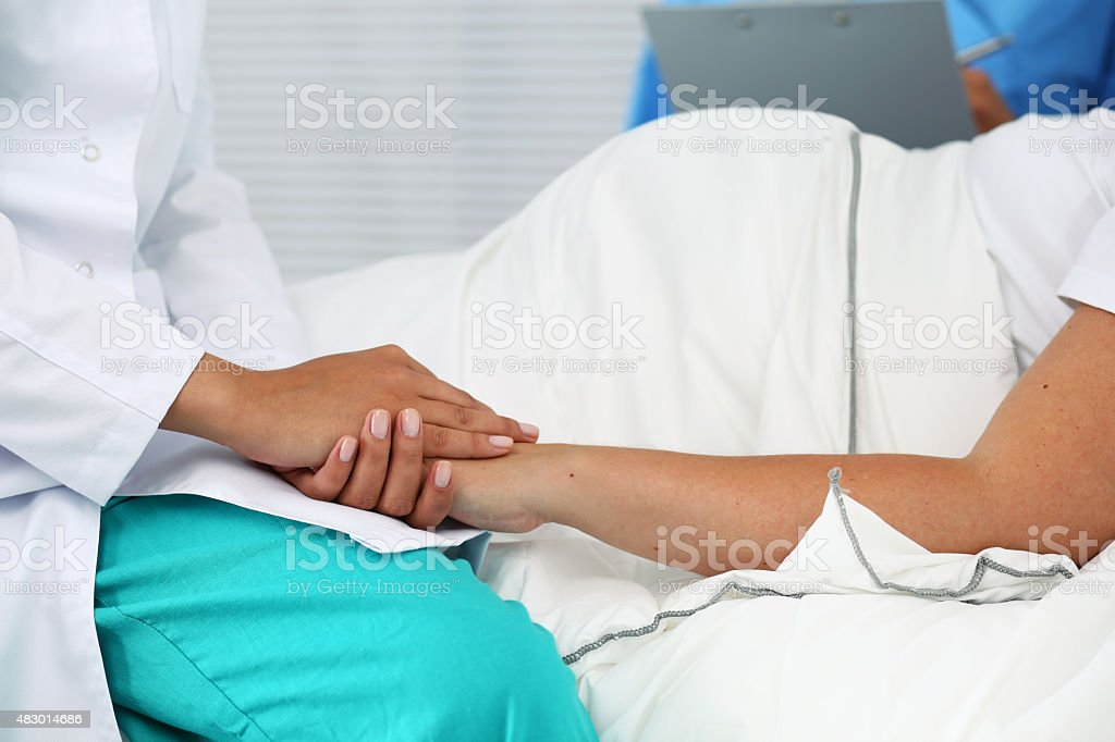 New life of abortion concept stock photo