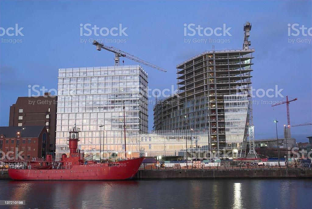 New Liverpool. stock photo