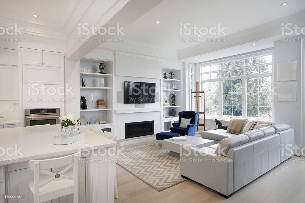 New Living room stock photo