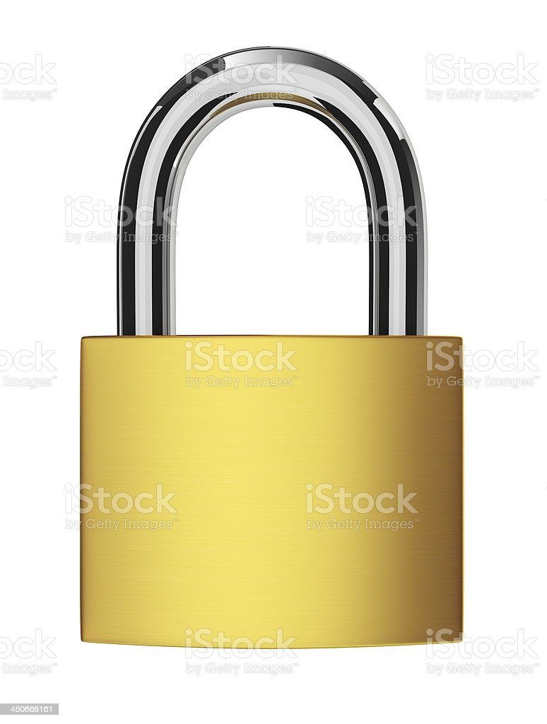 New lock royalty-free stock photo