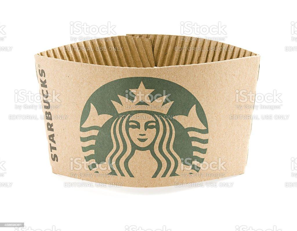新しいロゴに starbucks coffee スターバックスコーヒーのカップスリーブ
