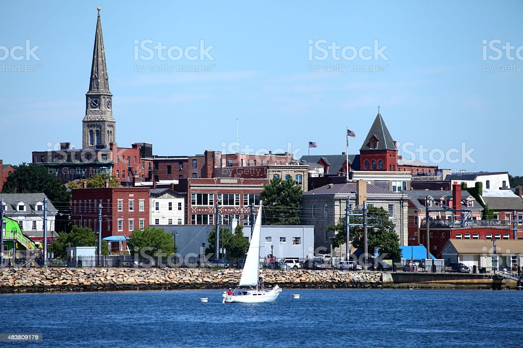 New London, Connecticut stock photo