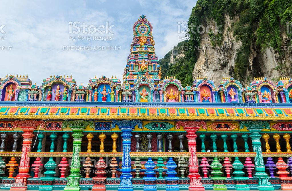 New Look Of The Colorful Temple At The Batu Caves Templekuala