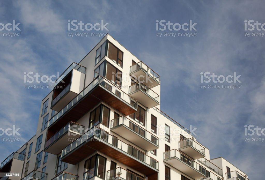 New luxury apartments. royalty-free stock photo