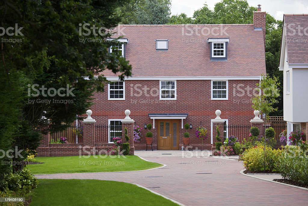 New Luxury Executive Home royalty-free stock photo