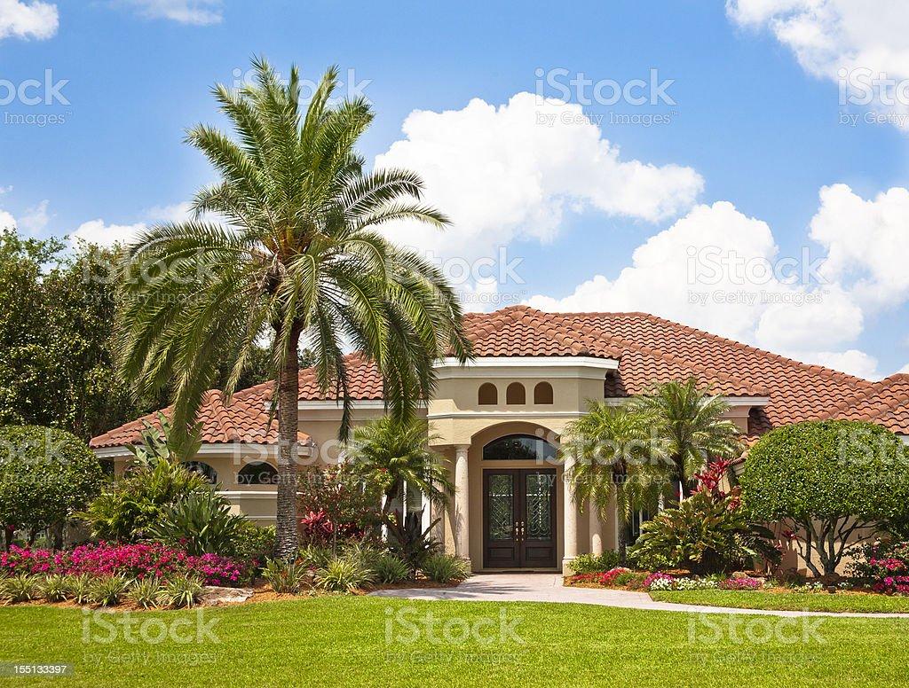 Nouvelle Maison De Luxe Avec Jardin Tropical Photos Et Plus D